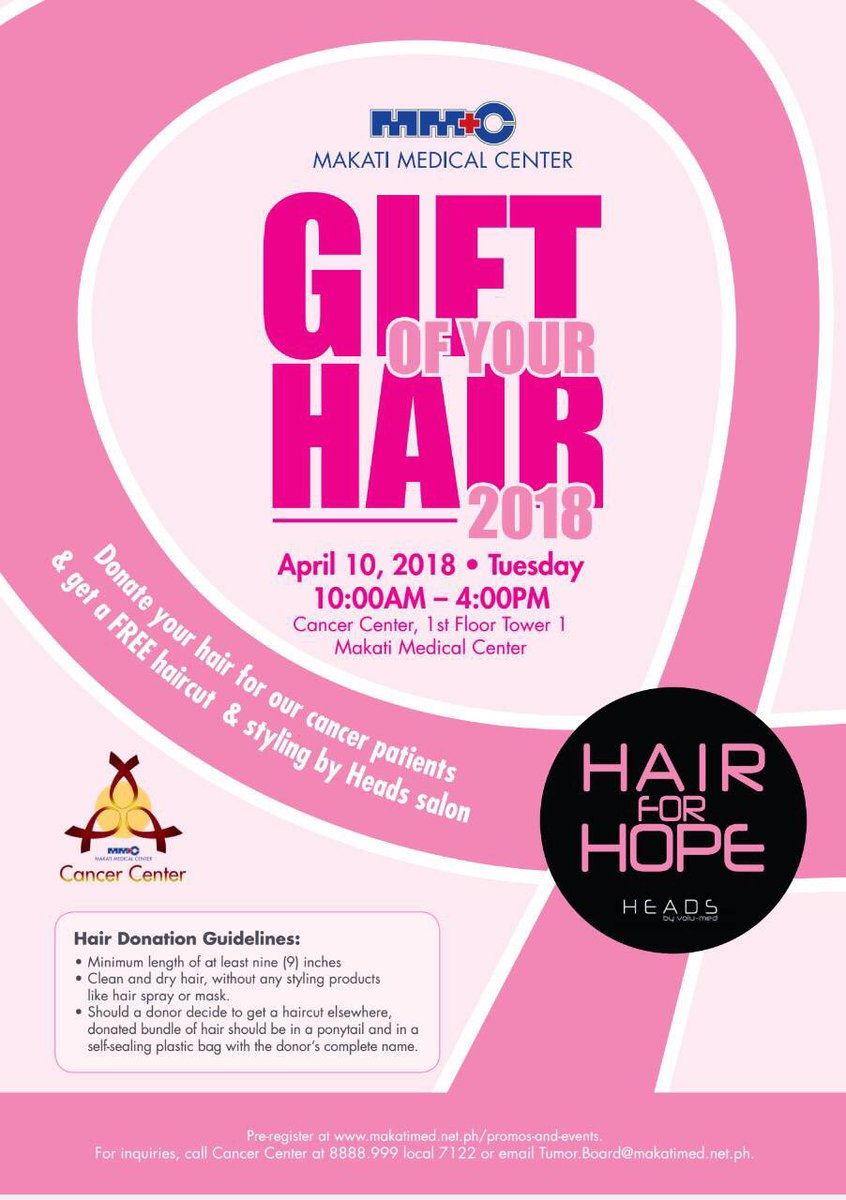 Ramon Bautista On Twitter Donate Your Hair And Get A Free Haircut