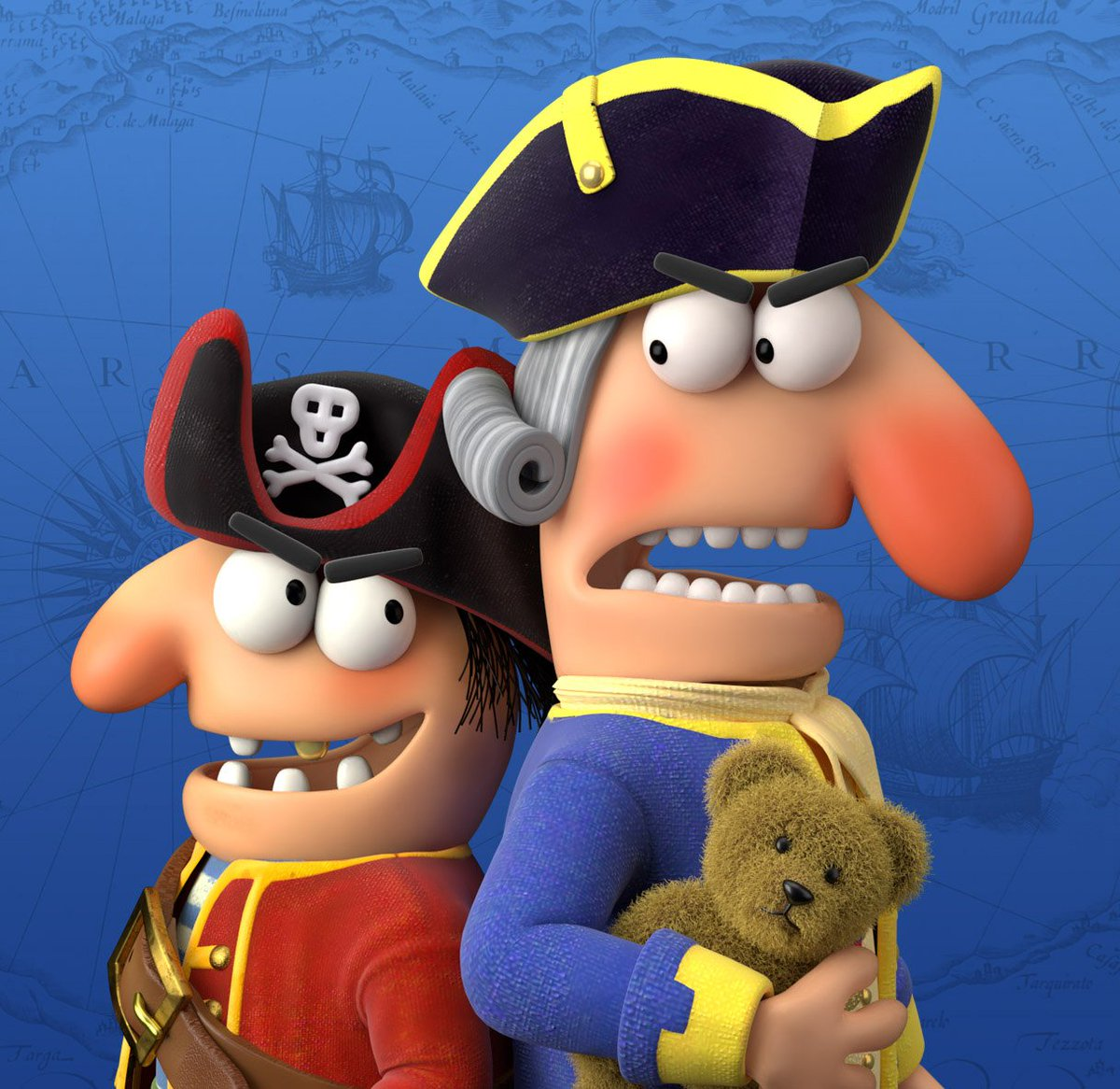 jon stuart on twitter pirate smail nose and captain big nose 3d