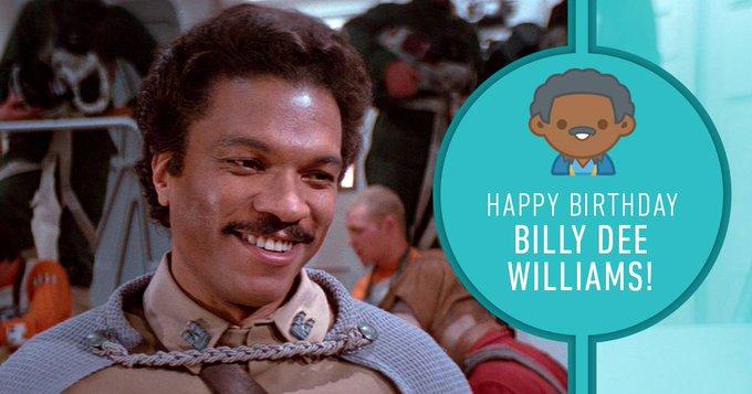 Happy Birthday Billy Dee Williams!