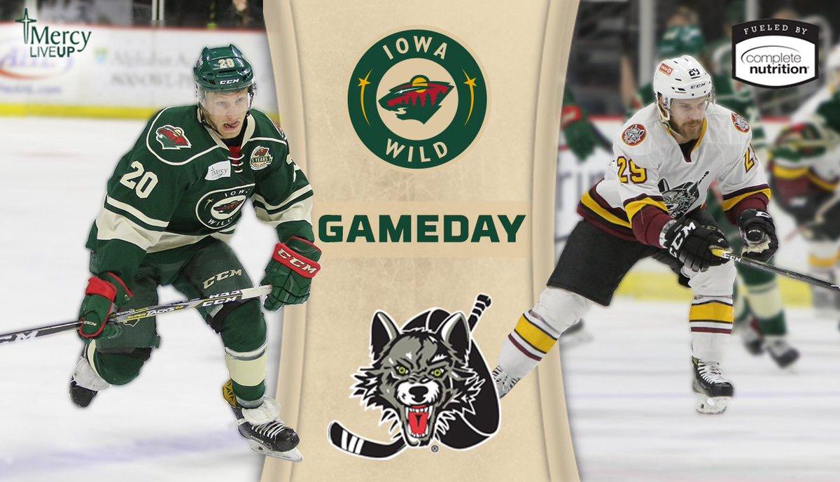 Iowa Wild On Twitter It S Hockey Night In Des Moines We Host The