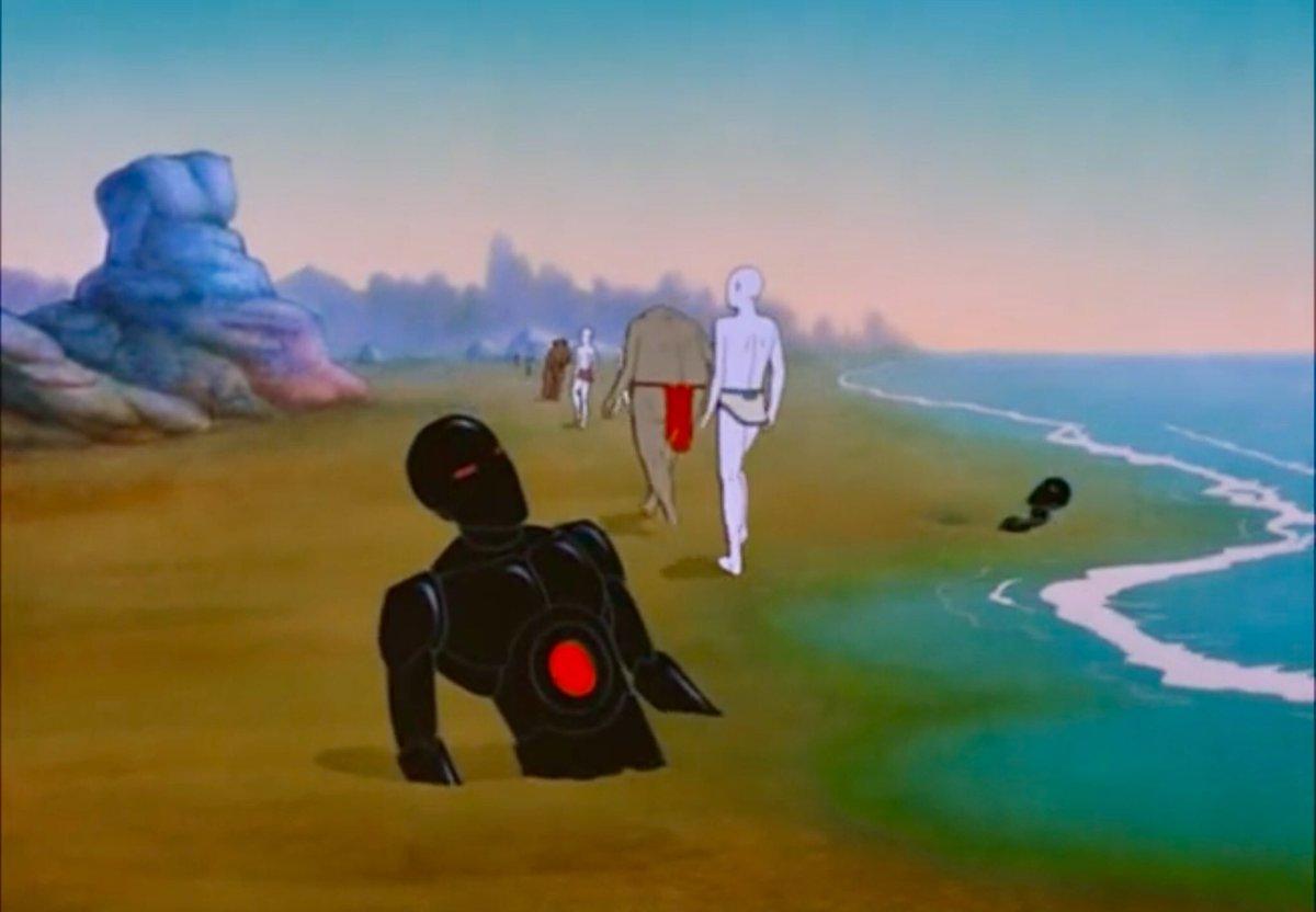 Scifi Art On Twitter Gandahar 1988 Director Rene Laloux Animation