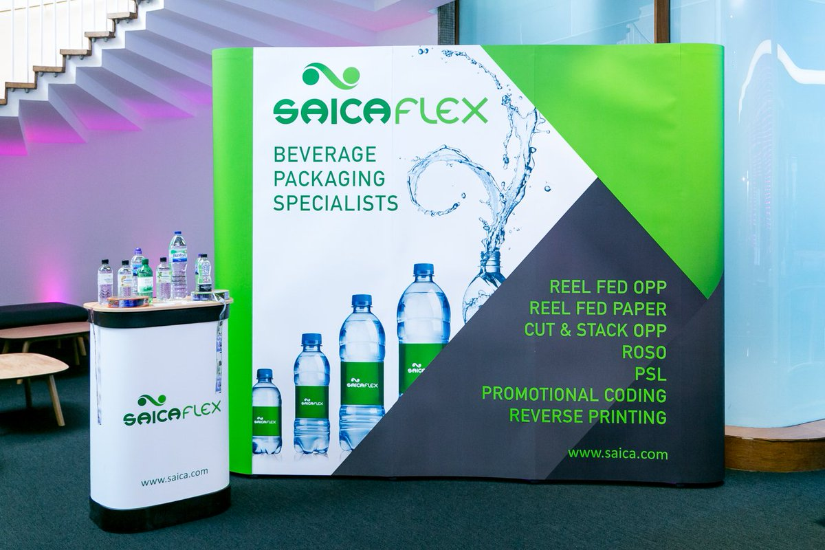 Saica Flex had the pleasure of sponsoring The UK Bottled Water Conference last month which provided insights and updates on market and consumer trends, as well as exploring the scope for future innovation in this fast growing beverage sector. #labels #beverage #packaging https://t.co/vzBC7Fiv7n