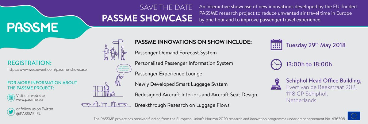 Registration Is Now Open Here Weezevent Passme Showcase H2020 InvestEUresearch Airtravelpictwitter QLlls8Zazs