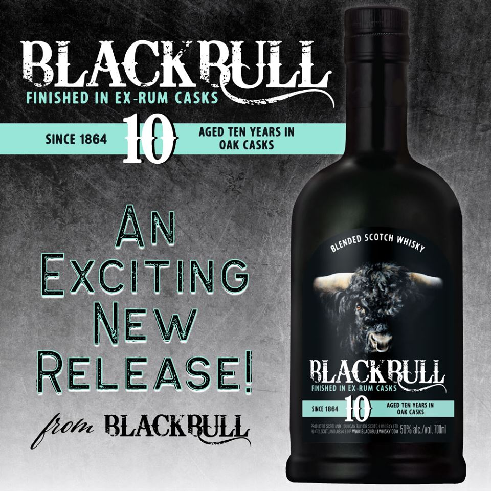 Black Bull 10 Year Old Blended Scotch Whisky. Finished in Ex-Rum Casks! #100proof #blackbullwhisky #rumfinished #scotch #whisky #blendedscotch <br>http://pic.twitter.com/uty2XioIYD