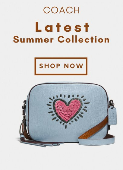 Shop The Coach's New and Cool Summer Collection of 2018