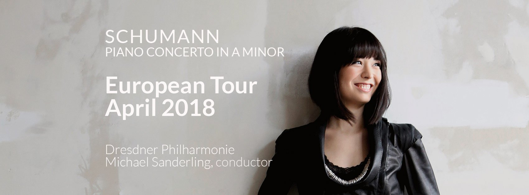 Reloaded twaddle – RT @AliceSaraOtt: European tour with Schumann's Piano Concerto in A minor, Micha...
