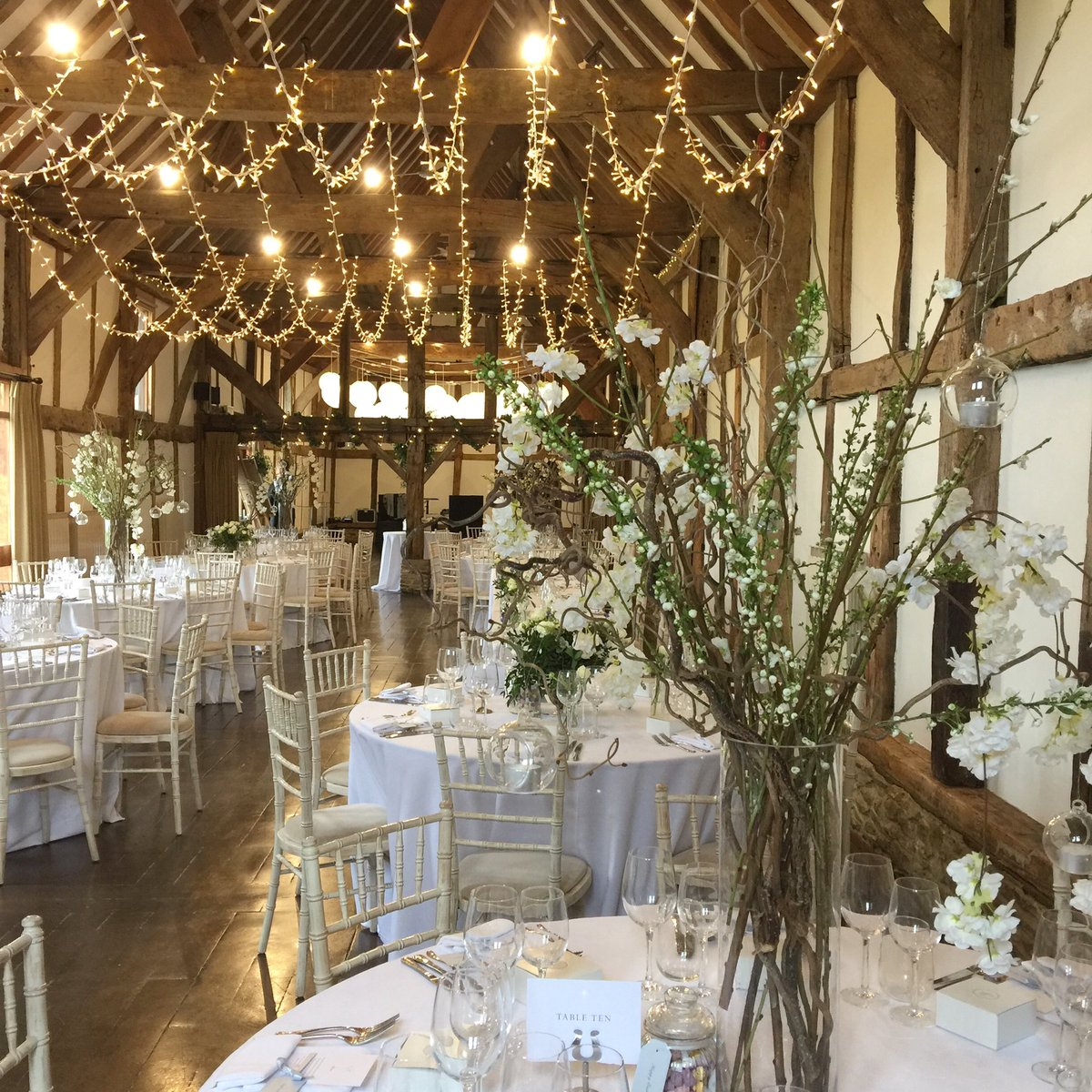 Pretty Spring blossoms set the scene. We all need a reminder that Winter is over! @edenblooms @Loseleyevents @OakwoodEventsUK