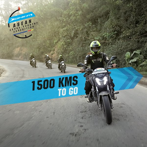 After conquering the difficult terrain across South East Asia, the riders find themselves on the final stretch home. The #DominarASEANexpedition finally comes to a thrilling end. https://t.co/mhvk6XkHOC