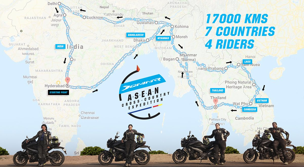 The #DominarASEANexpedition has set new milestones, tried and tested the skills of the riders, conquered diverse terrain and come out victorious in the harshest conditions. https://t.co/JnzRSop0nf