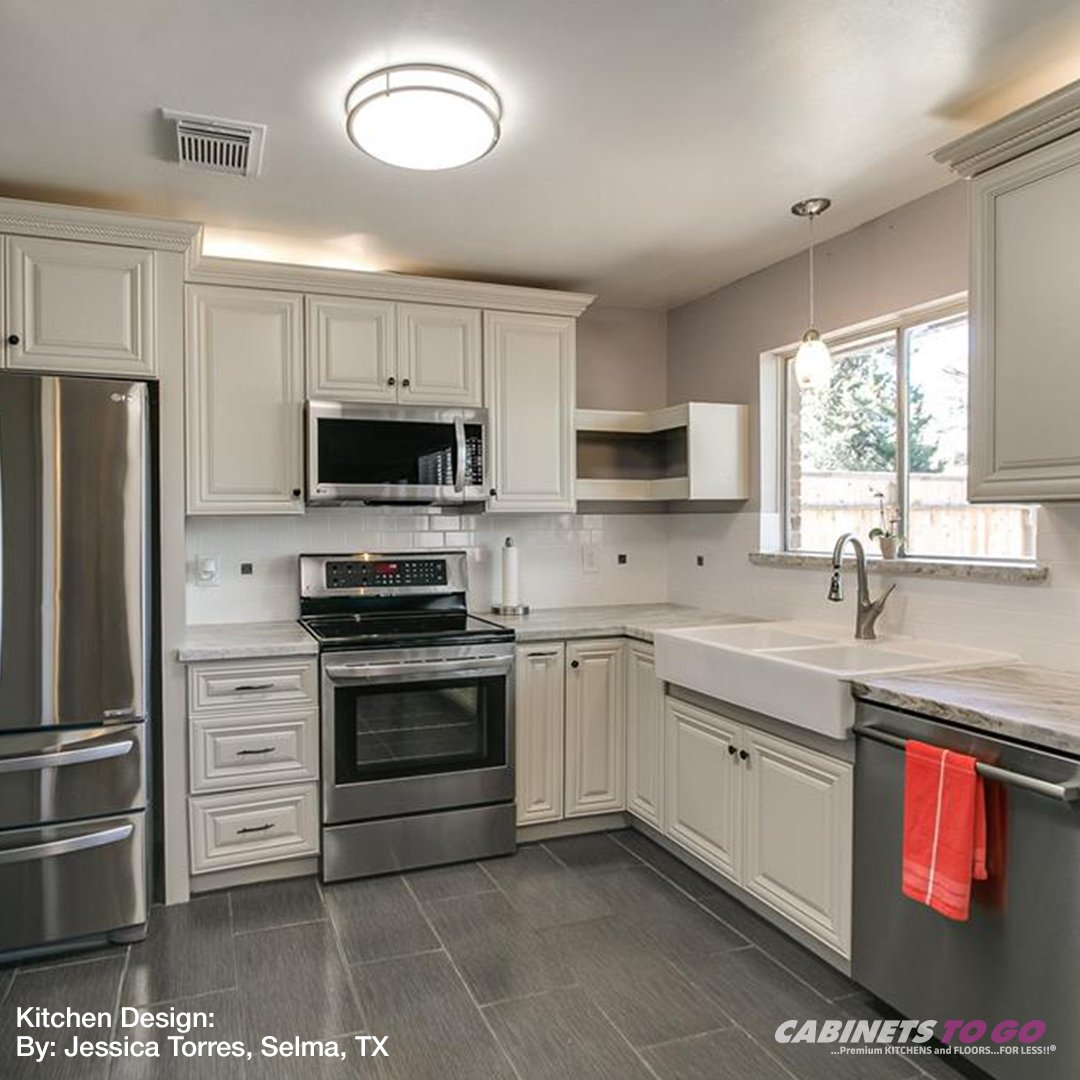 Like This Beautiful Victoria Ivory Kitchen Designed By Our Selma, TX Store  Team! Http://cabinetstogo.com/allshops #cabinetstogo #cabinets #remodel ...