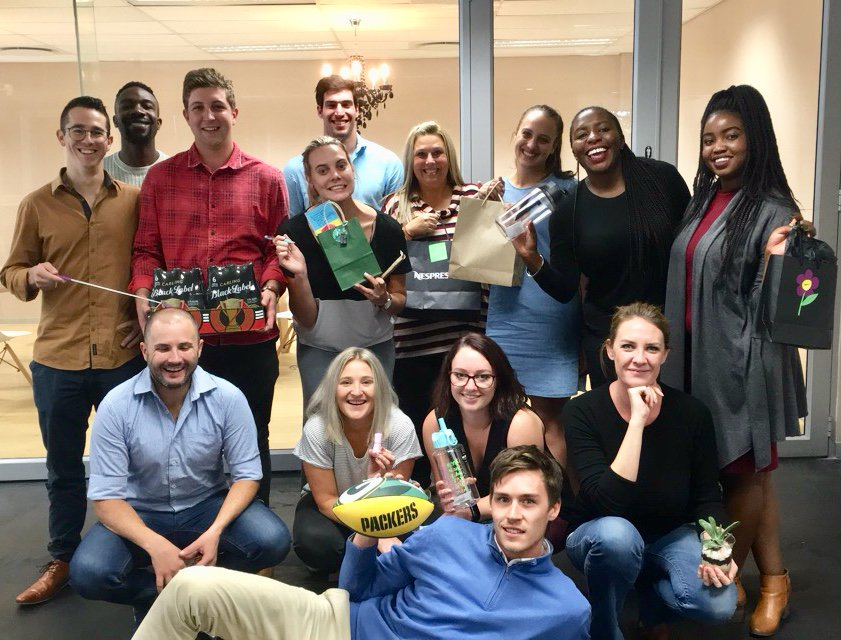 The @addynamo team celebrating the new Johannesburg office with warming gifts  #LoveWhereYouWork #officewarminggifts #newofficespace <br>http://pic.twitter.com/tiUSwRKw26