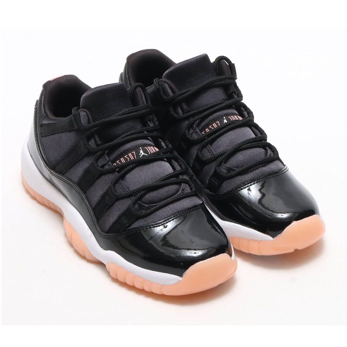 buy online ac2ea 04332 NIKE AIR JORDAN 11 RETRO LOW GG BLACK BLEACHED CORAL-WHITE 2018.4.7 9 00  RELEASE https   buff.ly 2qczhDB pic.twitter.com pcoM6QAcV8