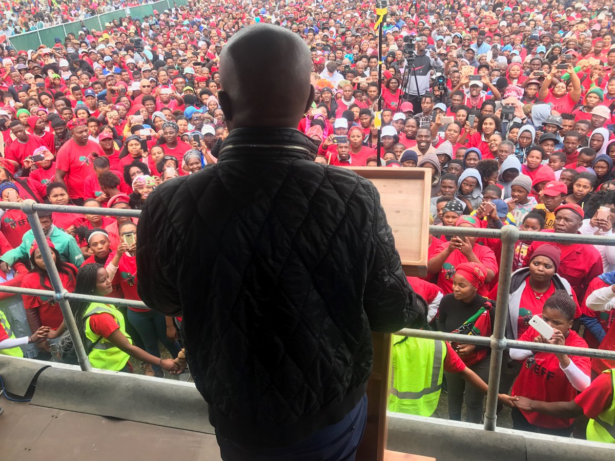 Do the EFF and ANC believe blacks need a chief to look after land