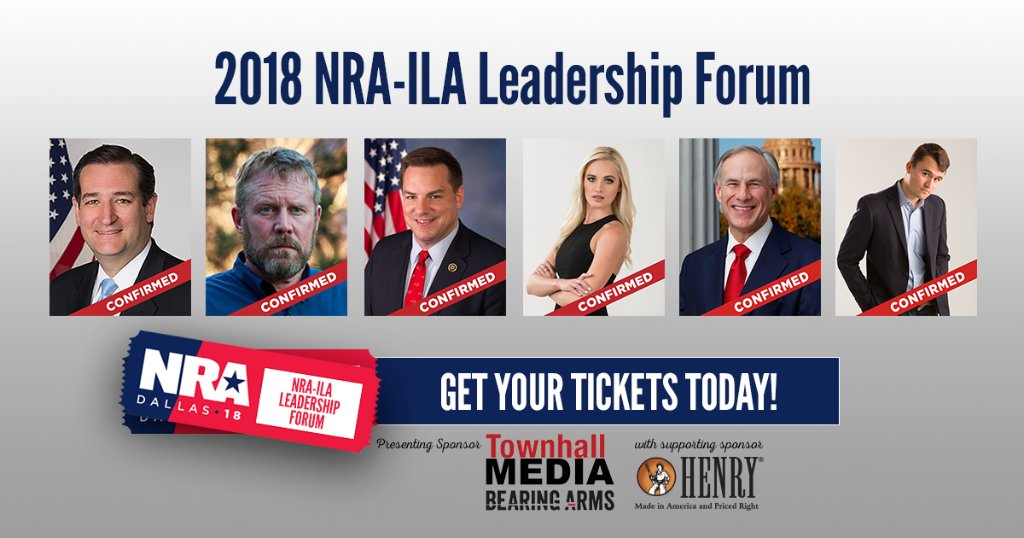 Last year, @realDonaldTrump was the first sitting President to address the @NRAILA Leadership Forum since President Reagan. This year the line up will be just as incredible. Get your tickets TODAY! 🎟 ➡️ms.spr.ly/6019rFG3d