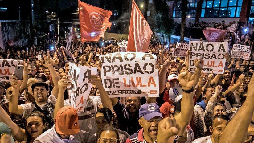 Crece rechazo a condena contra Lula