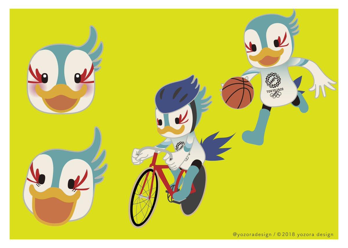 オリンピックマスコット - Twitt...