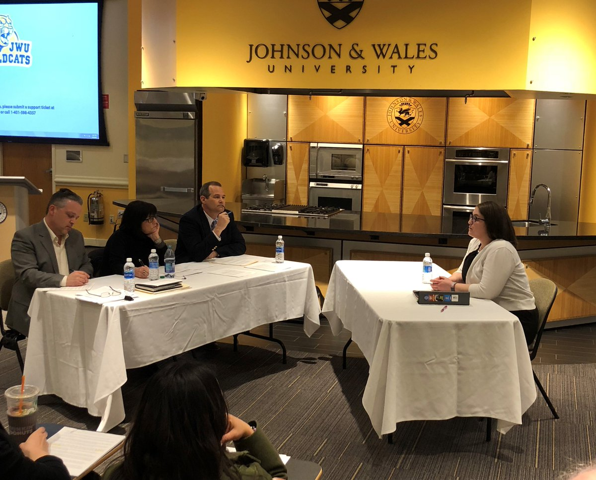 Yesterday was M.A.T. Mock Interview time for graduating student, Krystiana Medeiros. Panel members include:  Jim Erinakes, Vicki Norris-Karten, and Chris Sweet. Thanks to all for a great experience for Krystiana and her fellow classmates!