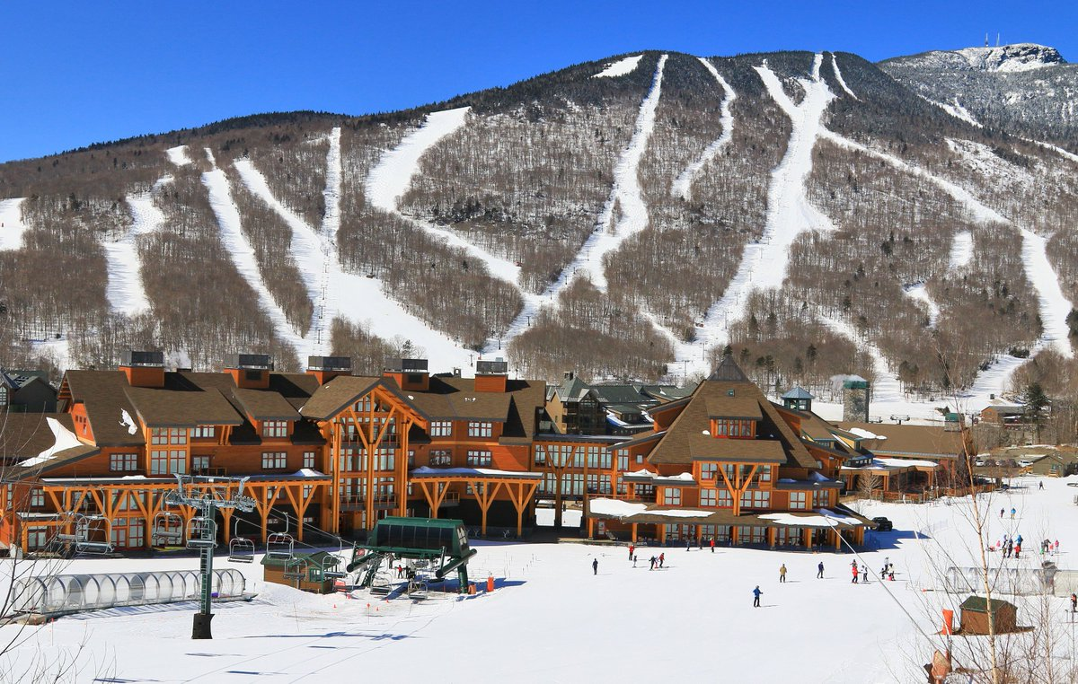 """stowe mt resort on twitter: """"we have been treated to a stunning"""