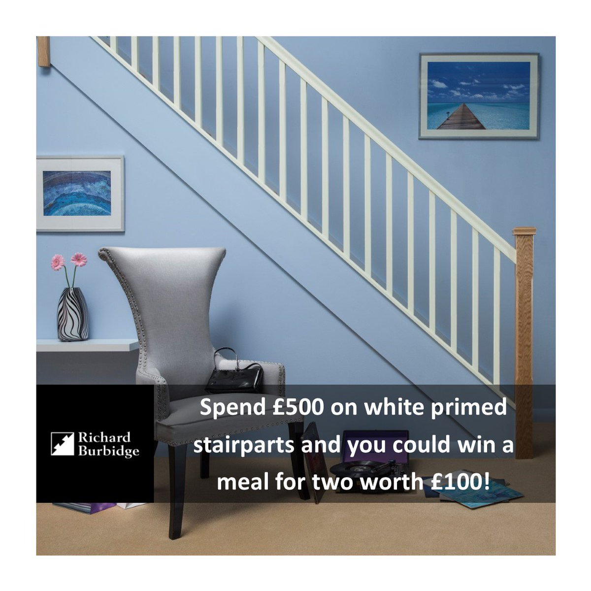 White Primed Stairparts Are Ideal For Painting Whatever Colour You Like So  Your Stairs Can Be Truly Unique! You Can Also Take Part In Our Great ...
