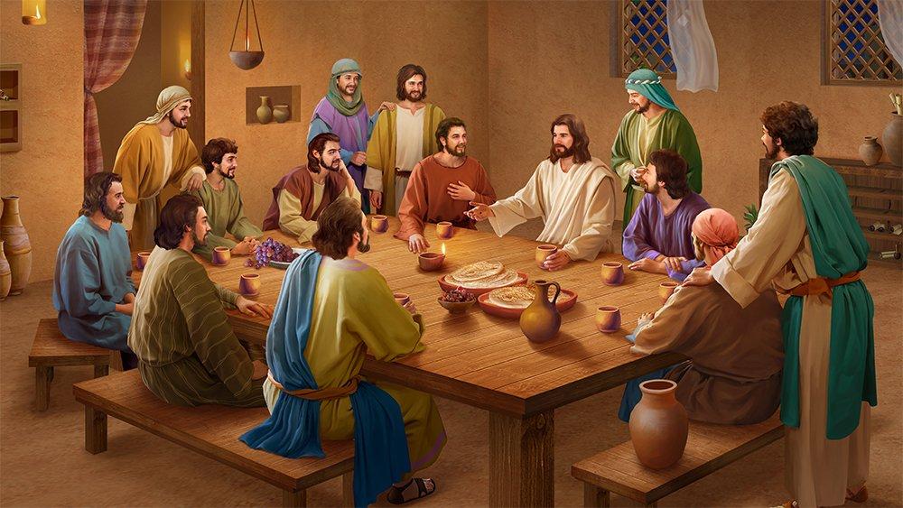 Библейские картинки вечеря господня