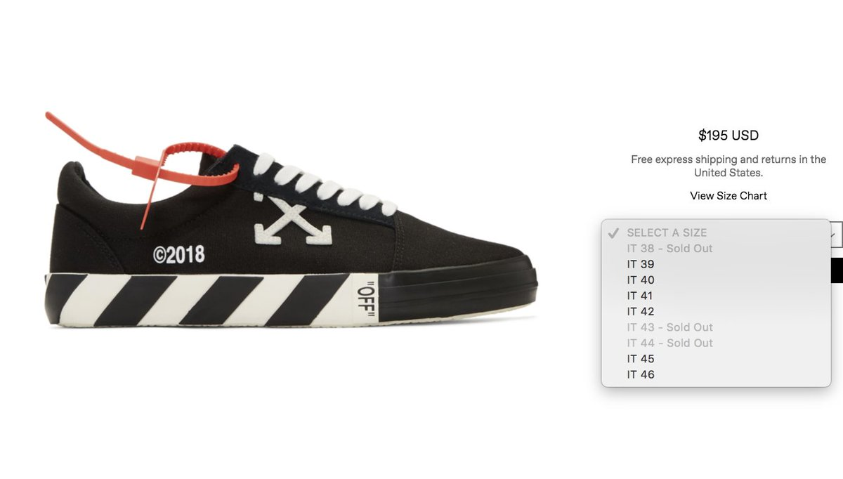 3381d3828da Sizes selling out Off-White Vulc Sneakers Black http   bit.ly 2uRi20e  Checkered http   bit.ly 2q8RbYE pic.twitter.com lXUvhPE4rn