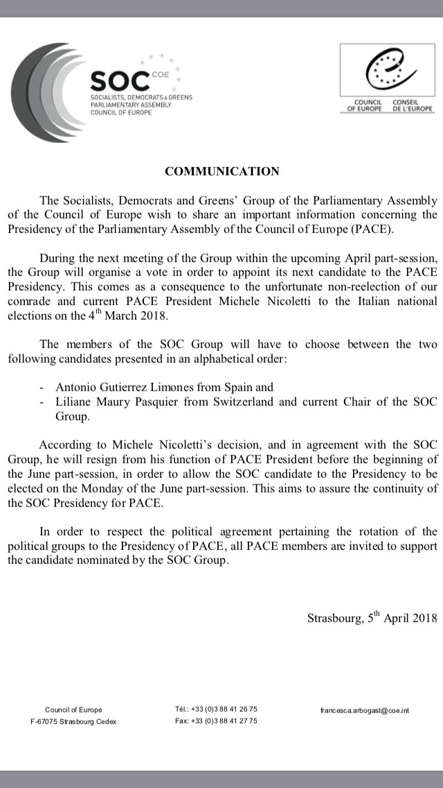 Soc Group Coe On Twitter Information Concerning Presidency Of