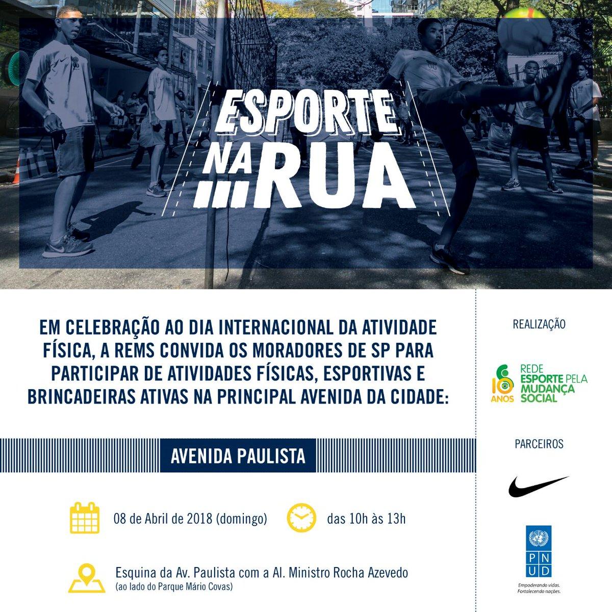 b9b9eb7c3 Hoje é dia Dia Internacional do Esporte para o Desenvolvimento e pela Paz.  E amanhã é dia de viver os valores do esporte com muita diversão.
