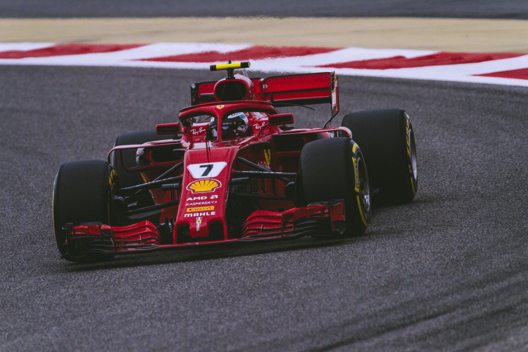 F1 2018 Bahrain GP - Free Practice 2