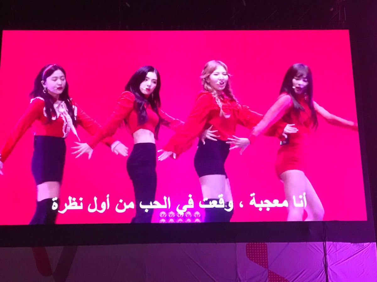 The girls from #RedVelvet steal the show in #SMTOWNinDubai
