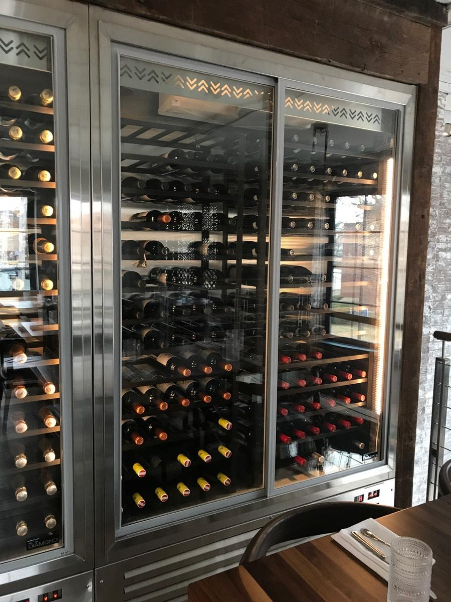Wineracks By Marcus Custom Designed For A Nyc Winecooler Send Us Message About Your Needs And Lets See What We Can Come Up With