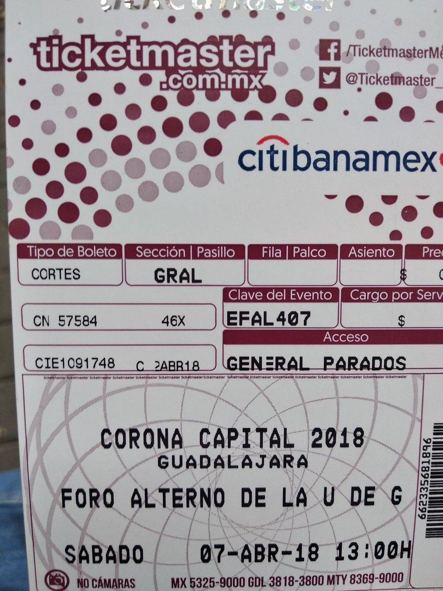 corona capital 2018 boletos sabado