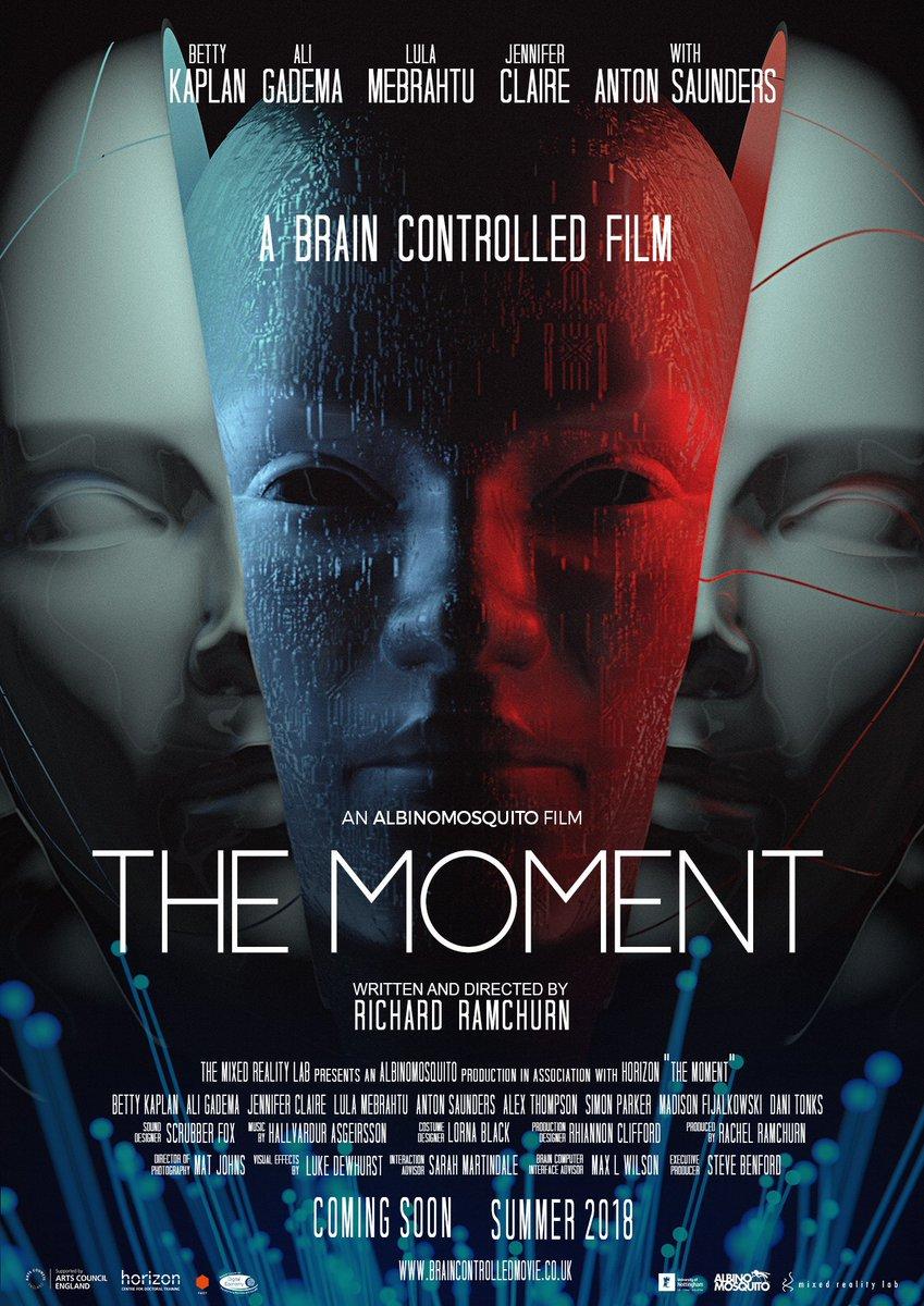 آینده صنعت سینما فیلم لحظه فیلم the moment قابلیت کنترل فیلم توسط ذهن