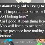 5 Questions Every Kid is Trying to Answer... #D123 #edchat #edtech #cpchat #kinderchat #elemchat #mschat #hschat #ntchat #apchat #swchat