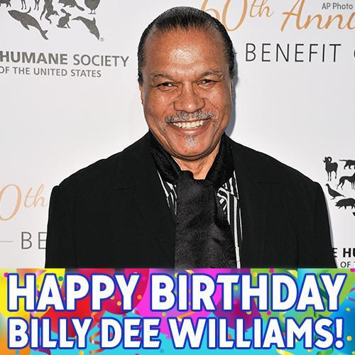 Happy birthday to actor Billy Dee Williams