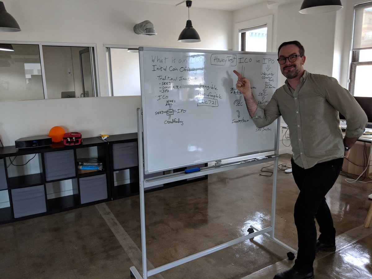 Crypto&Food Friday: Look at Brian (our awesome COO) making sure #teamMEW is up-to-date on #ICOs and regulations!