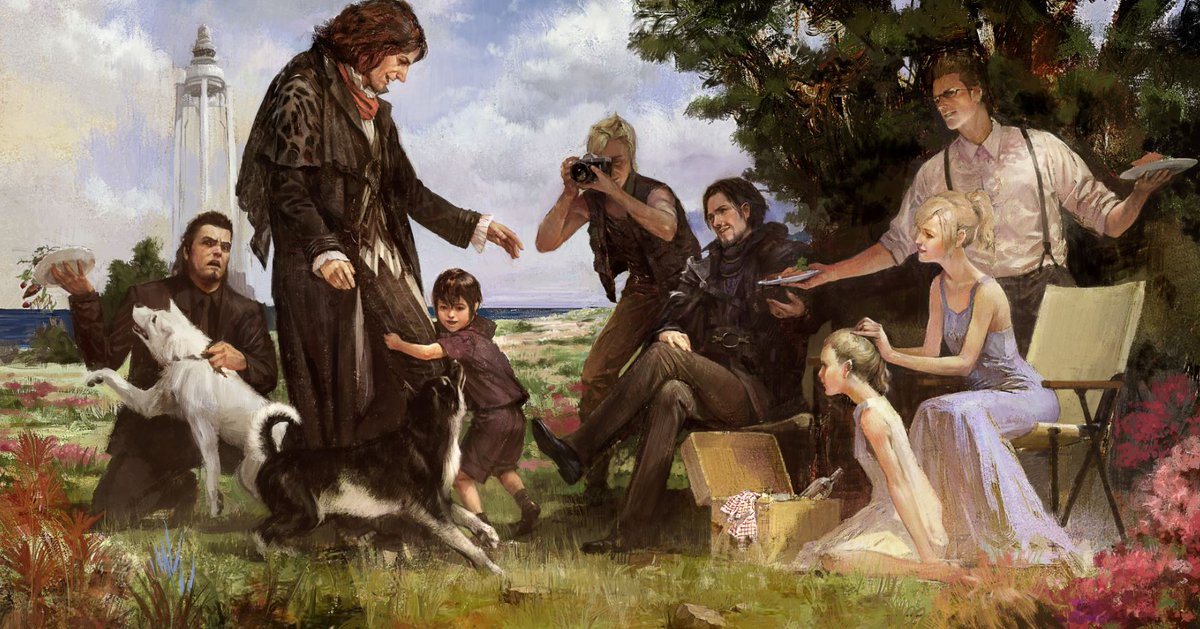 final fantasy xv on twitter the future looks stronger than ever