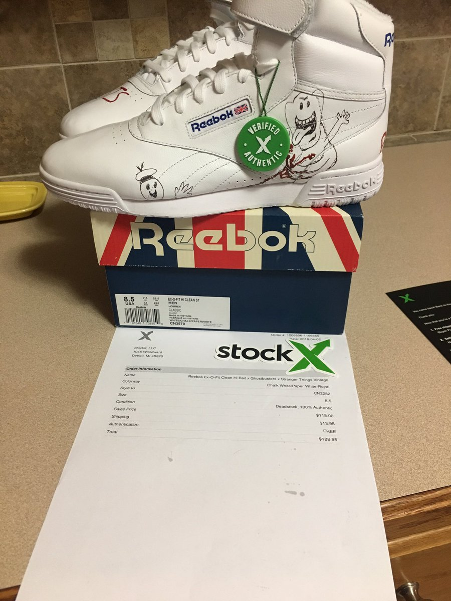 I ordered the VINTAGE version but received the regular version of the reebok  x bait x stranger things collaboration. 1d303c36f
