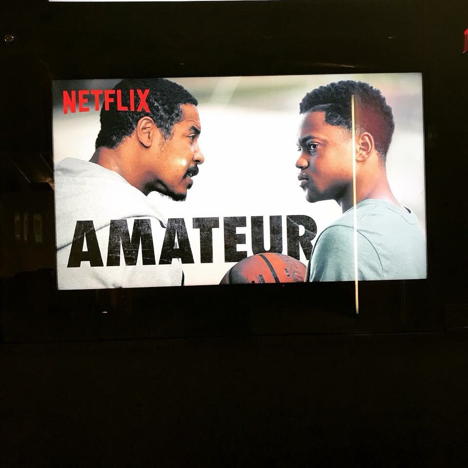 AMATEUR! on @netflix NOW. Retweet if you watched it or gonna watch it🙏🏽. Thanks guys for your support!  About: 14yr old basketball phenom has to navigate the under-the-table world of amateur athletics when recruited to an elite NCAA prep  youtu.be/0cQ3sBXpNtw