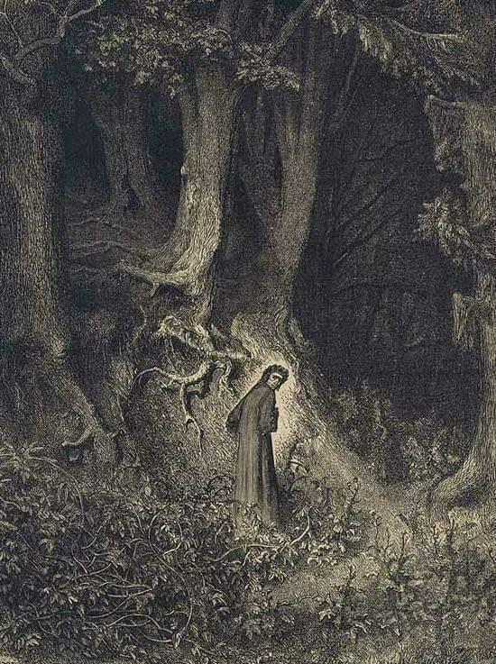 La notte tra il 7 e l'8 aprile dell'anno 1300 Dante iniziò il suo viaggio. #7aprile https://t.co/K5Z80RqRiy