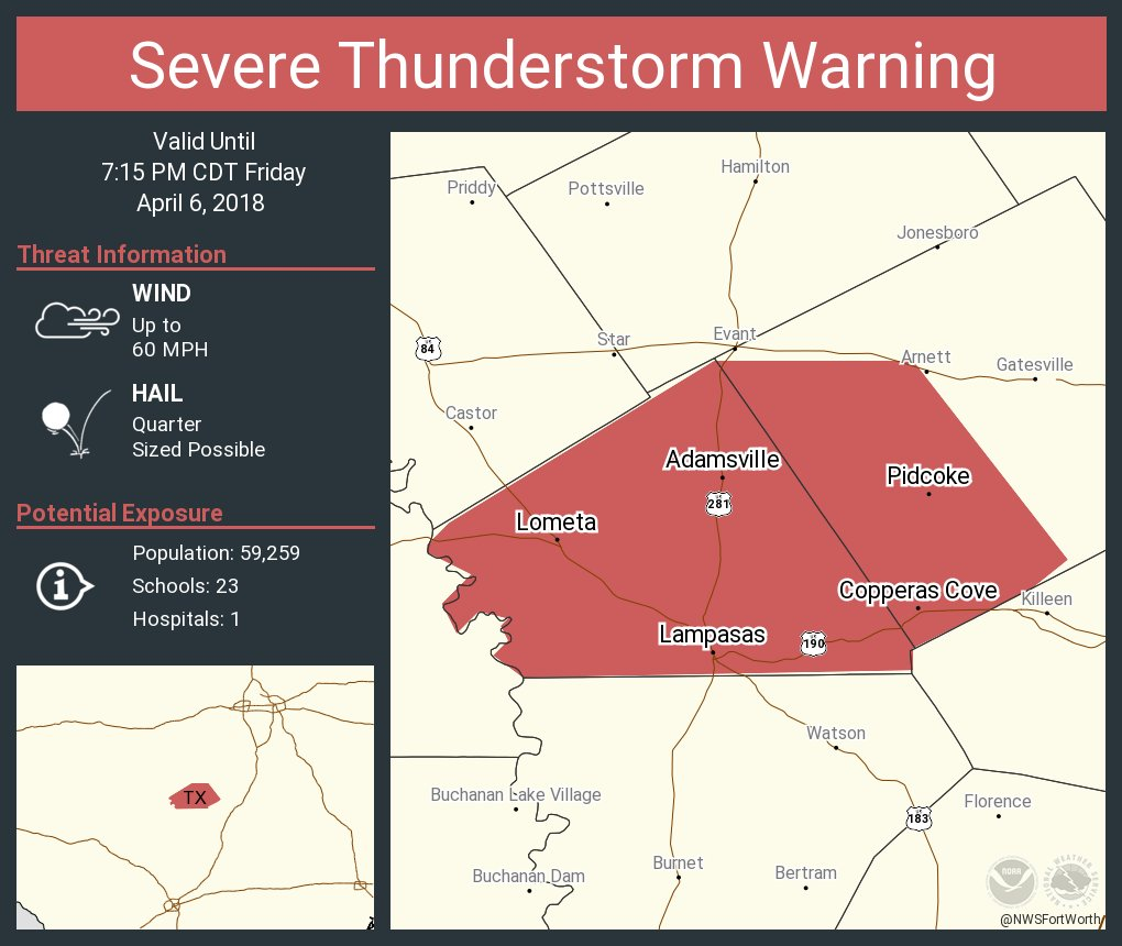 NWS Fort Worth on Twitter: