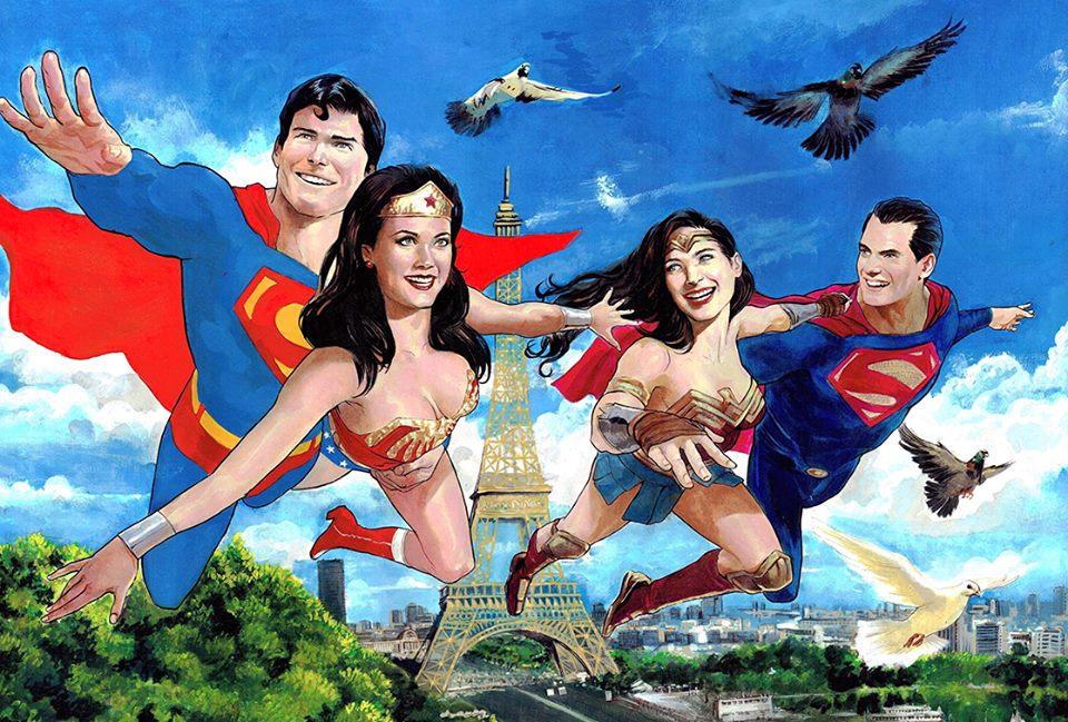 Superman and wonderwoman dating