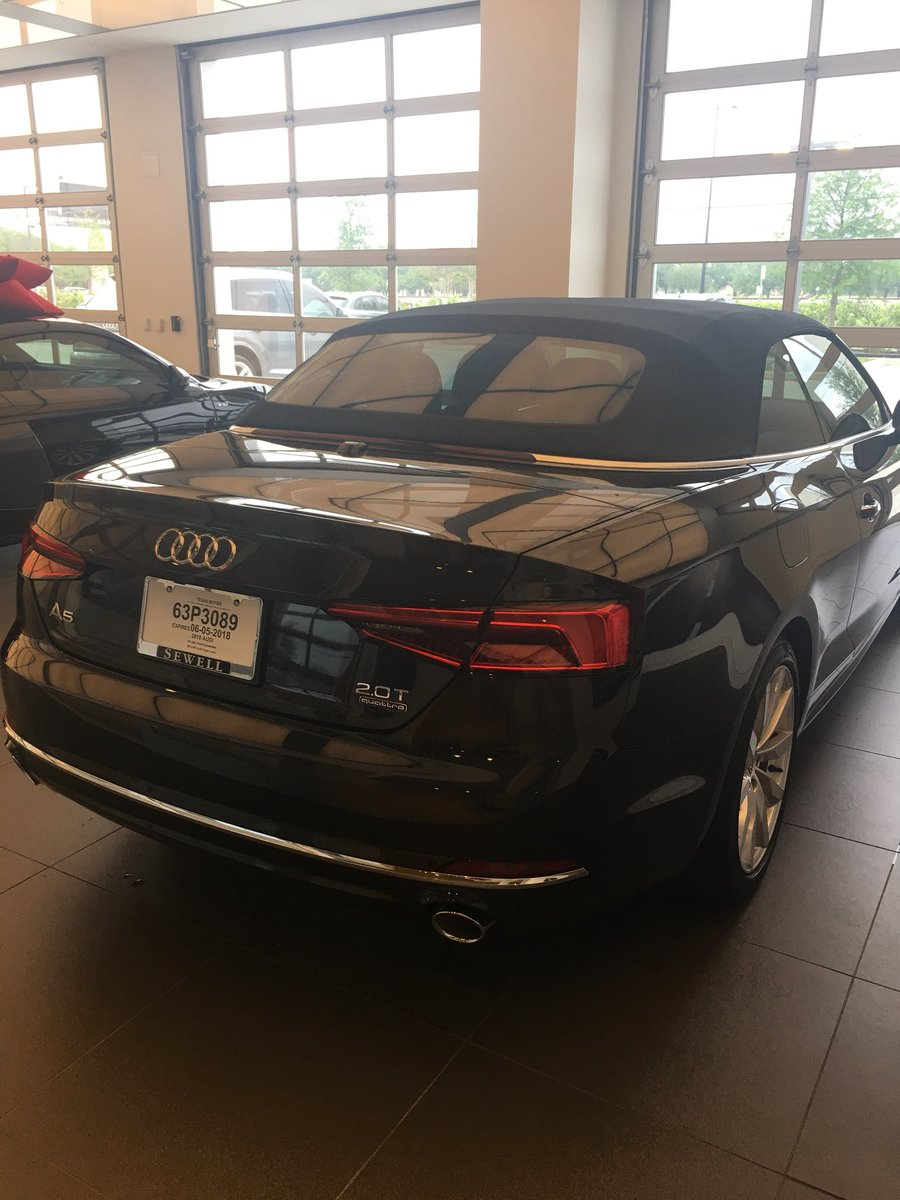 Denise Pagano On Twitter Dons New Demo Love It AUDI Sewell - Sewell audi