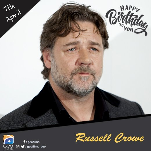 Happy Birthday Russell Crowe!