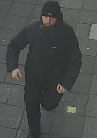 Police release image of man wanted in connection with Ealing office stabbing https://t.co/5OeEb0Ody8 https://t.co/zVNaJLROlA