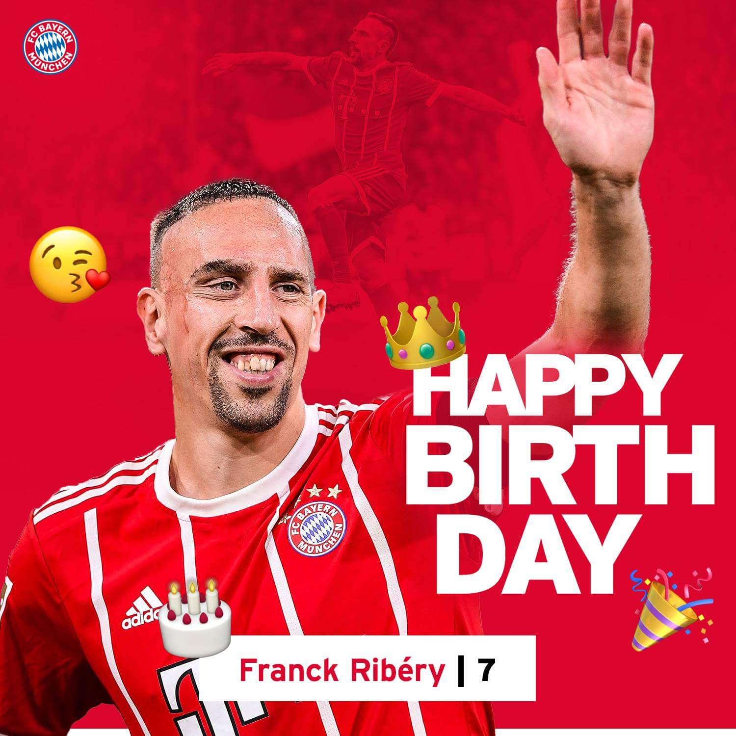 Happy birthday Franck ribery \the Jewel of France\