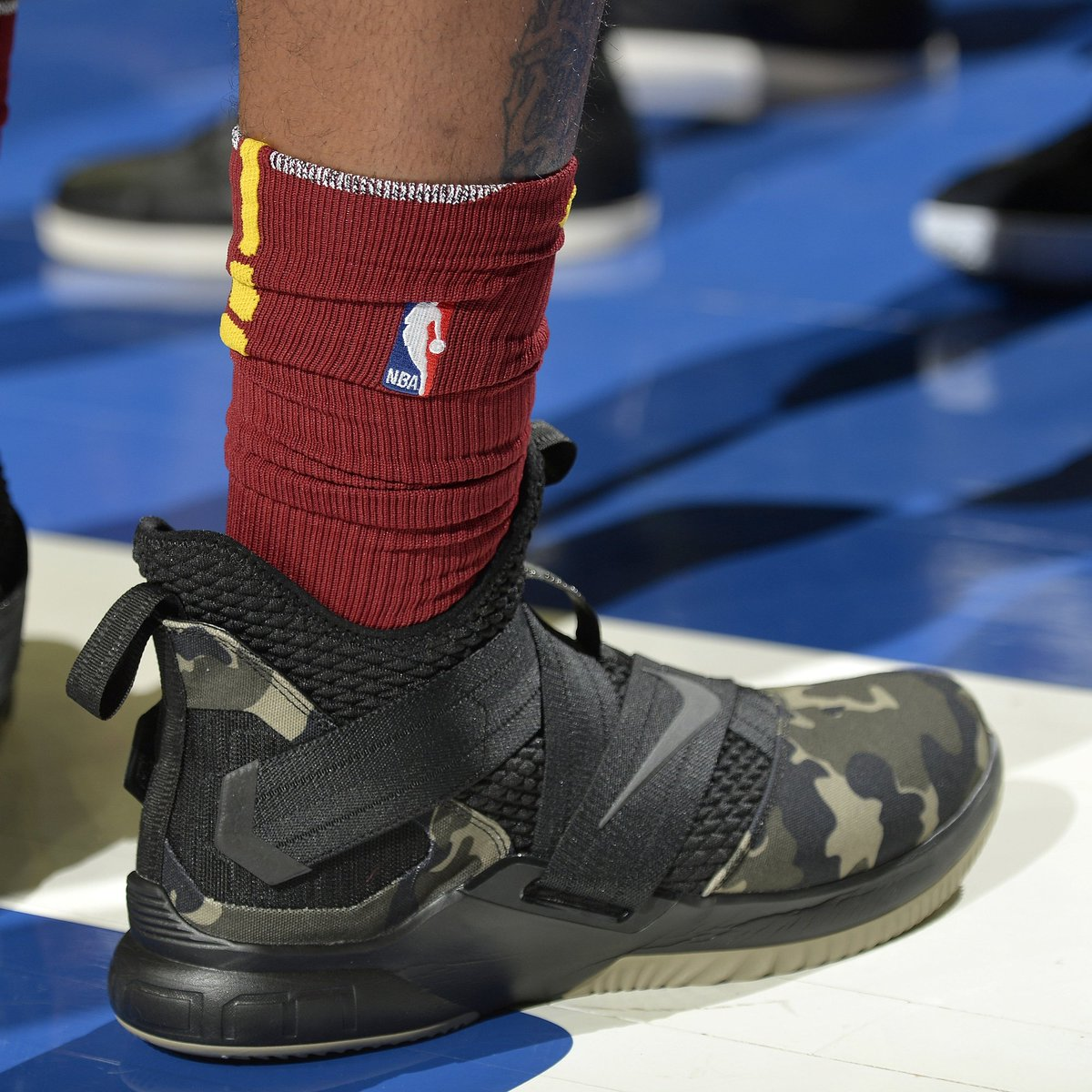 Jr smith debuts the nike lebron soldier 12. - scoopnest.com 805328a7c
