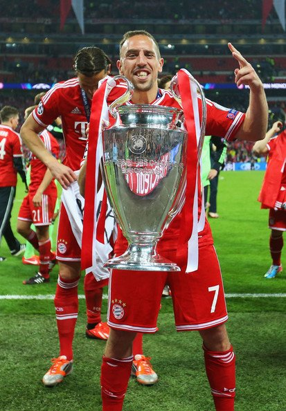 Happy 35th Birthday, Franck Ribery!