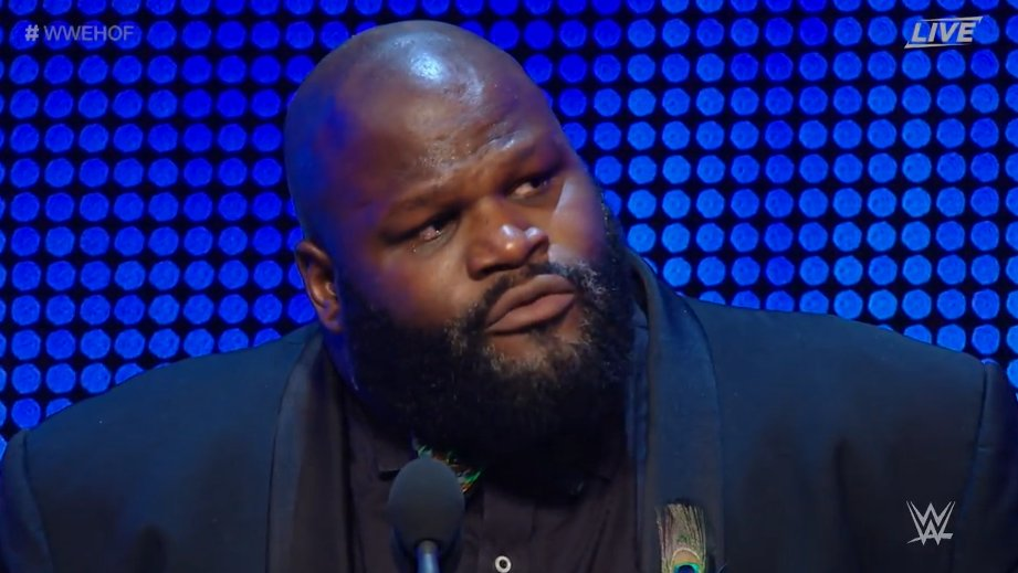 Mark Henry asks for Owen Hart to be inducted into the #WWEHOF.