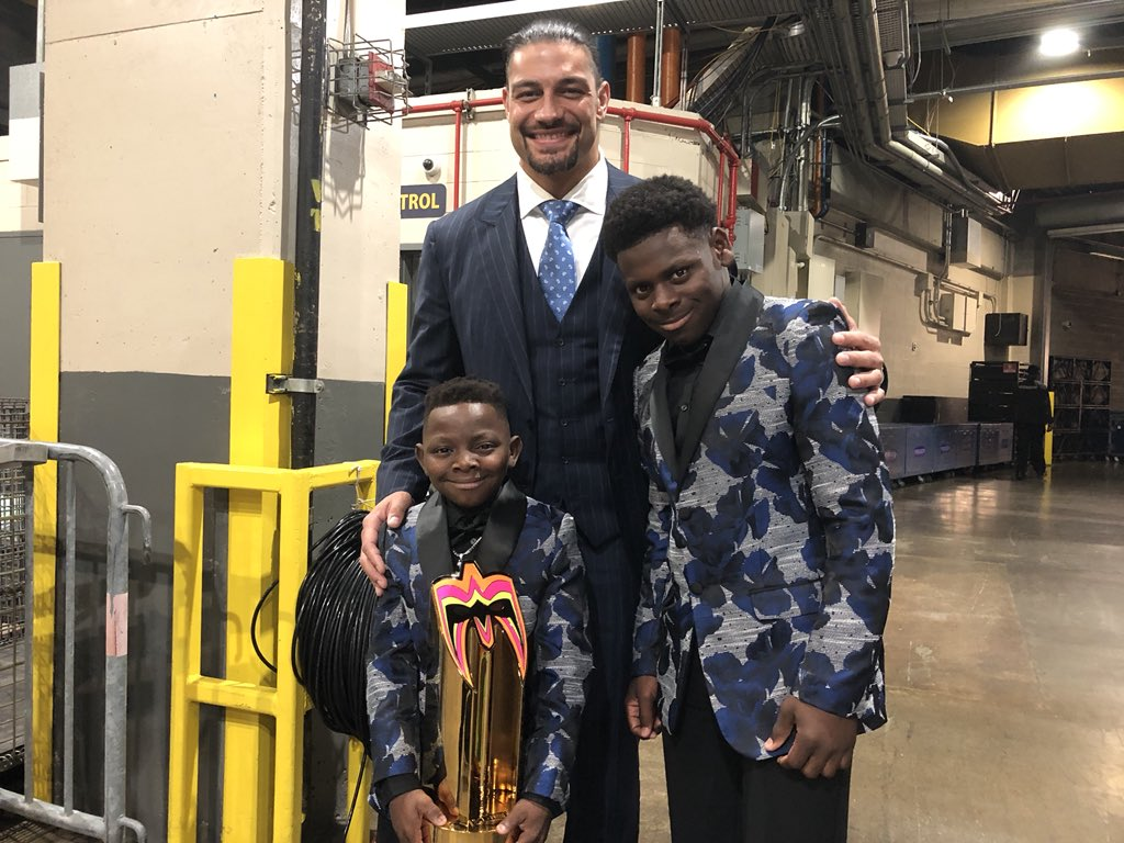 I always got your back @Jarrius ...thanks for always having mine!  Congratulations on your #WWEHOF induction my man!