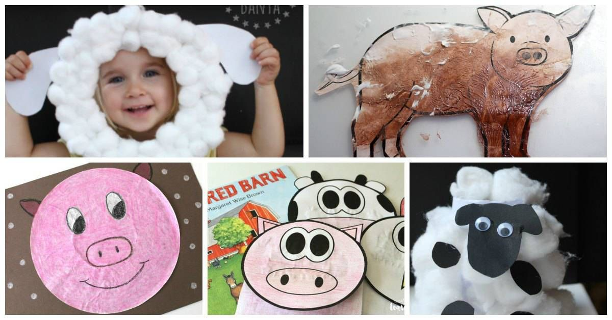 Cerys Parker On Twitter Fun And Easy Farm Animal Crafts For